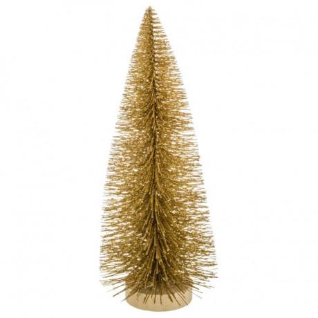 شجرة عيد الميلاد 25 سم ذهبي 147214C من  Feeric