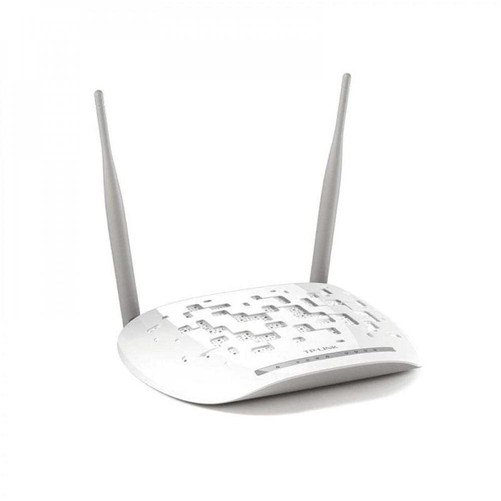 راوتر تبي لينك ADSL لاسلكي 300 ميجابت في الثانية TD-W8961N أبيض