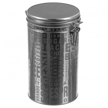 علبة لتخزين القهوة SG فضي 111421