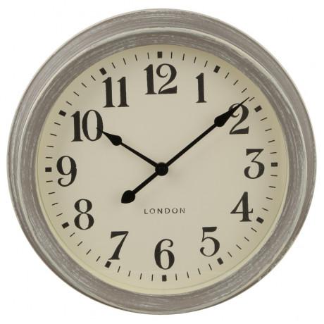 ساعة حائط قطر 35 سم 135632 رمادي من Atmosphera