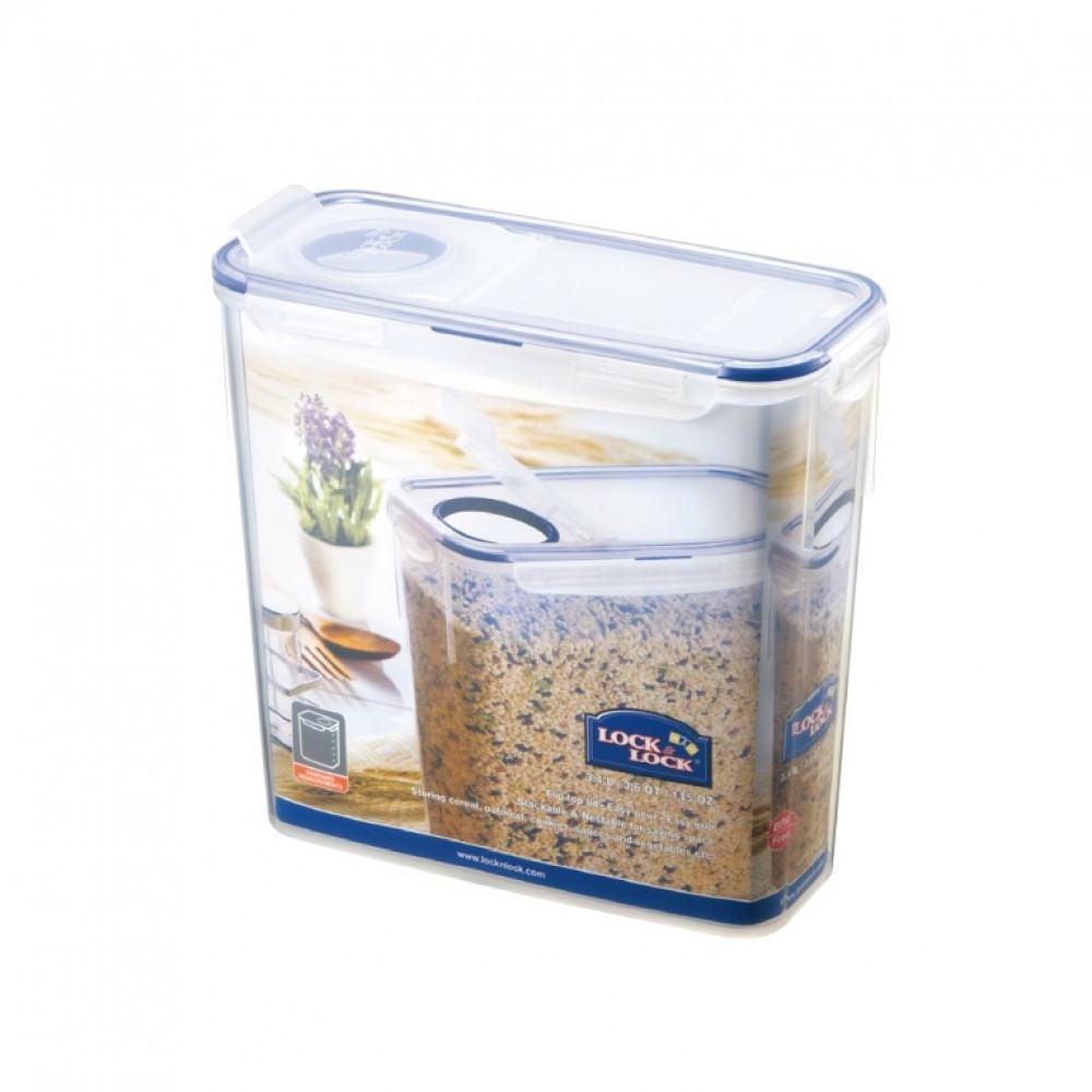 Lock&Lock 3.4Lt Rect. Food Container HPL713F