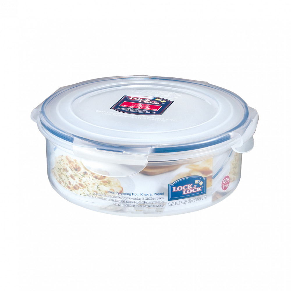 Lock&Lock 1.6Lt Round Food Container HSM951