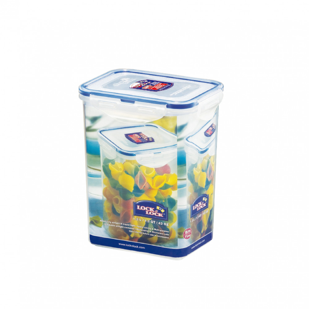 Lock&Lock 1.3Lt Rect. Tall Food Container HPL809