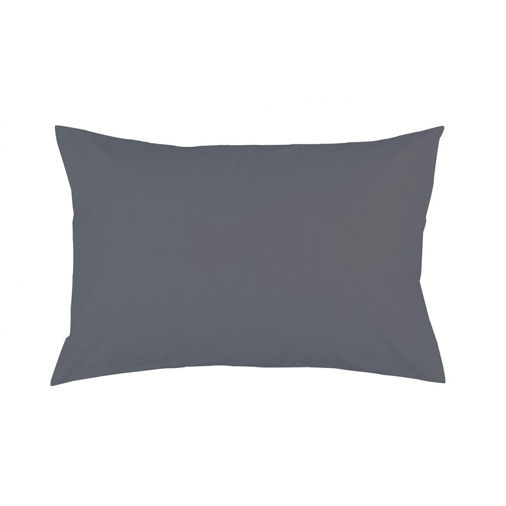 غطاء وسادة H.S جيرسي حجم 50/70 سم رمادي 512371