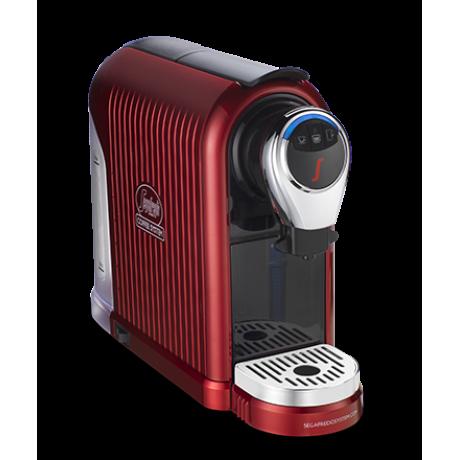 ماكينة صنع قهوة اسبريسو سيجافريدو 1 PLUS أحمر + 60 كبسولة مجانية