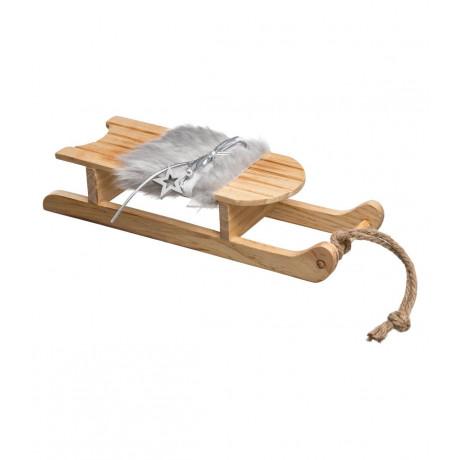 ديكور خشبي على شكل لوح تزلج مع فرو بطول 30.5 سم 153705من  Feeric
