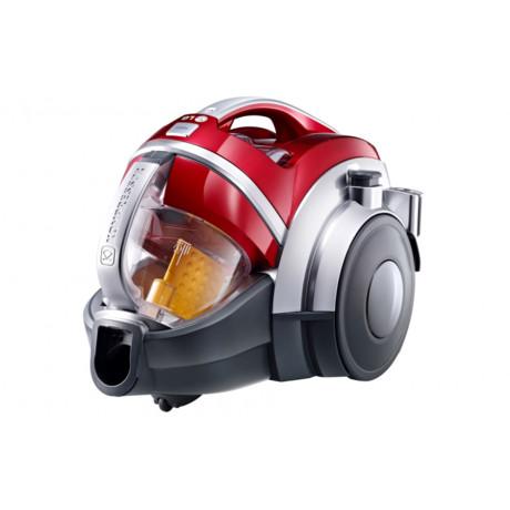 مكنسة كهربائية من ال جي 2000 واط 1.2 لتر - أحمر