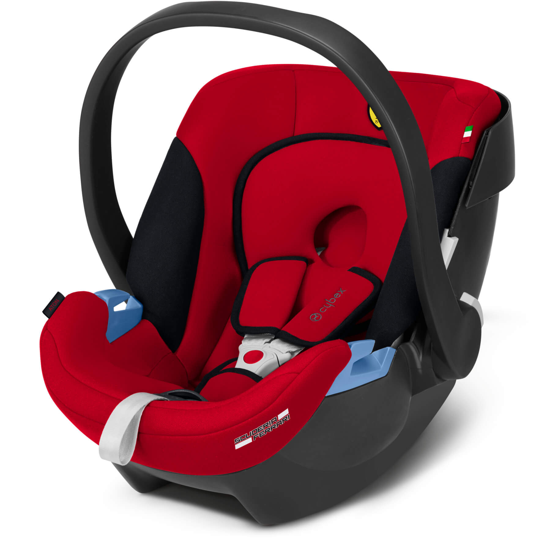 Cybex aton racing red scuderia ferrari edition infant carrier silver.15120a 20191124141742