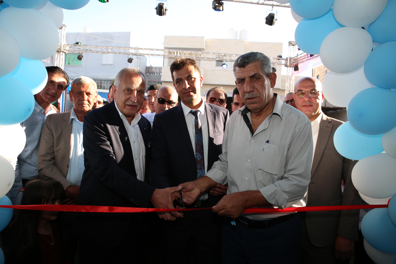 """تحت رعاية رئيس بلدية دورا افتتاح فرع سبيتاني """"مسوق معتمد"""" فرع دورا"""